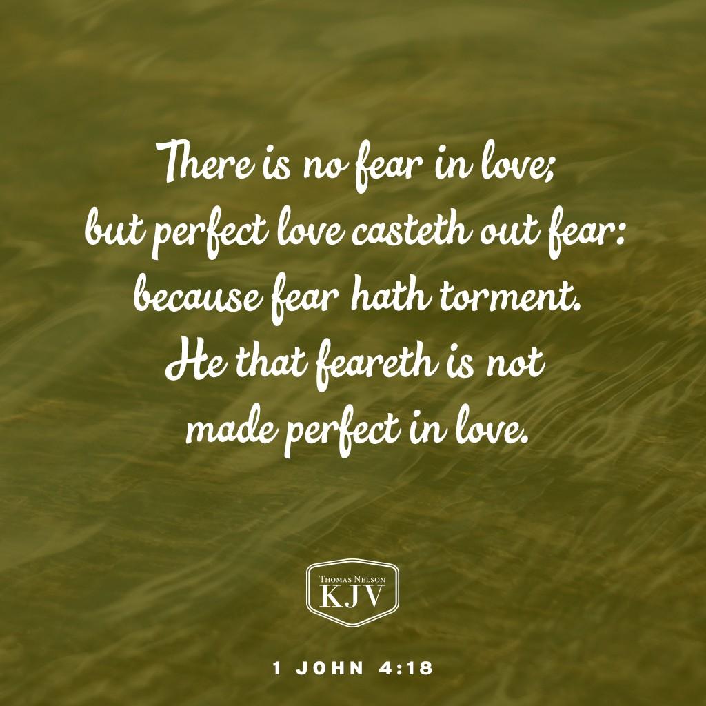 Kjv fear