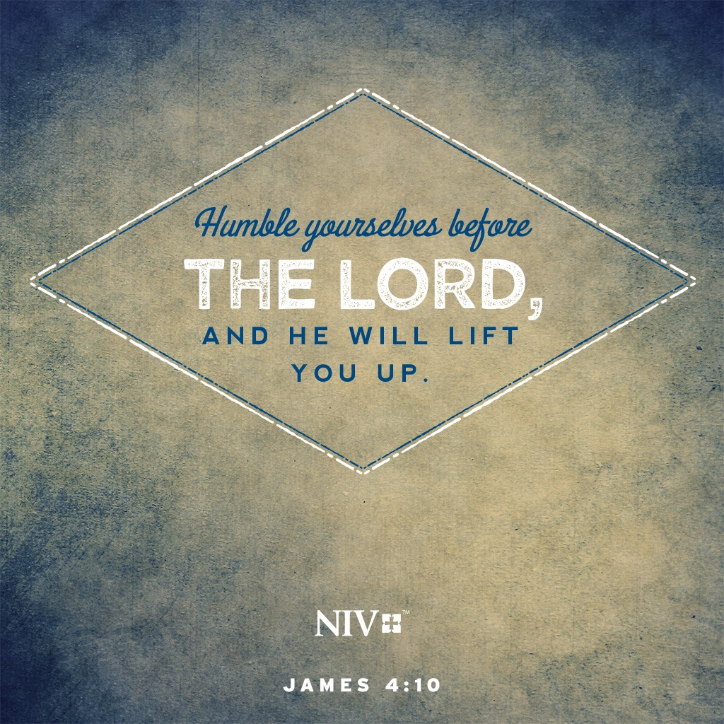 NIV Verse Of The Day: James 4:10