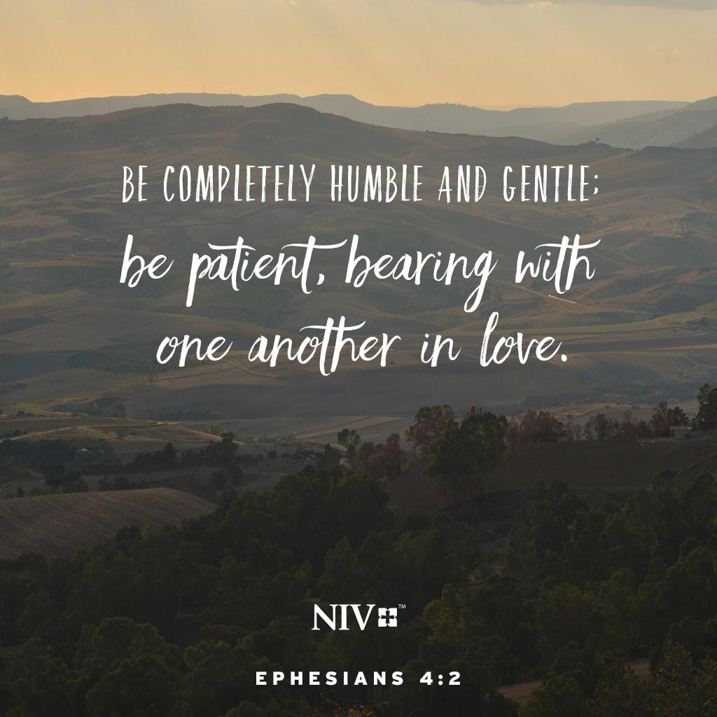 Niv Verse Of The Day Ephesians 4 2