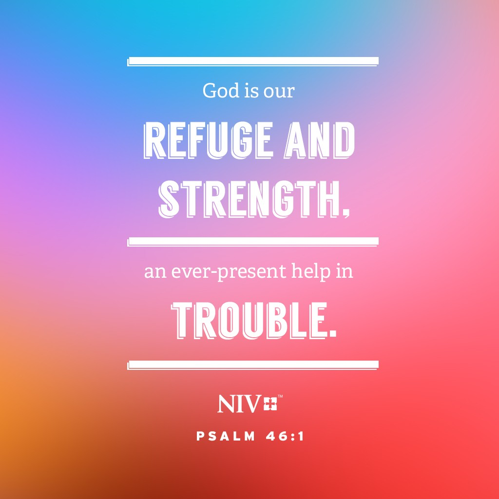 god is an ever present help in trouble