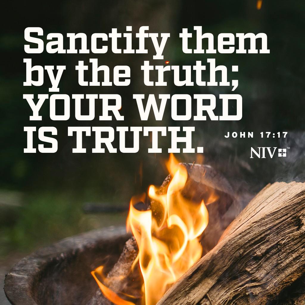 niv verse of the day  john 17 17