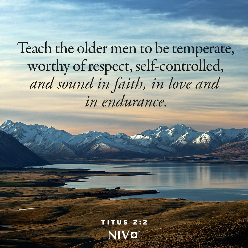 niv verse of the day titus 2 2