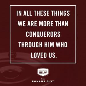 NKJV Verse of the Day: Romans 8:35-37