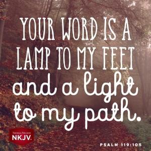 NKJV Verse of the Day: Psalm 119:105