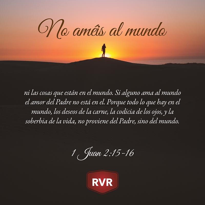 Rvr Versículo Bíblico Diario 1 Juan 2 15 16