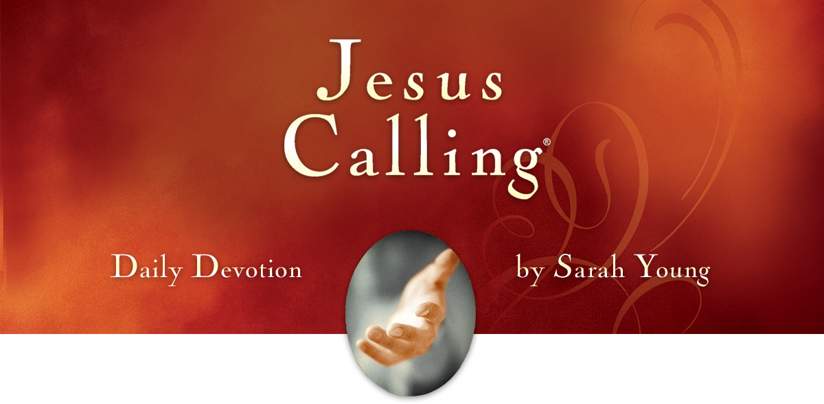 Jesus Calling - Daily Devotion